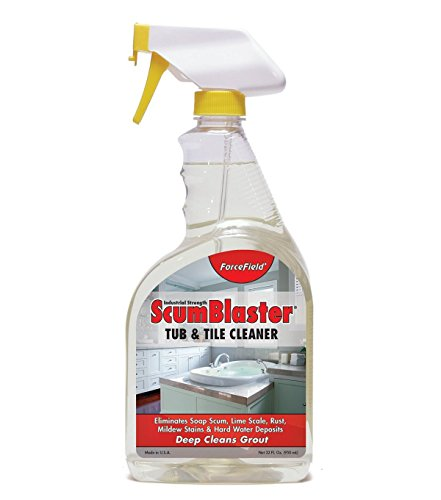 ForceField ScumBlaster Tub and Tile Cleaner Industrial...