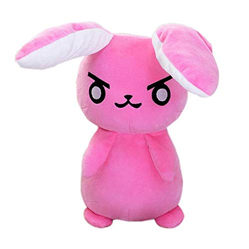Detazhi 1 pcs 50cm Overwatches Game Anime Pioneer Dva Rabbit Plush Toys Soft Stuffed Animals Doll Pillows Cosplay Props Kids Toys Gifts