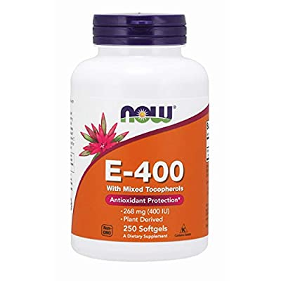 NOW Foods - E400 Mixed Tocopherols