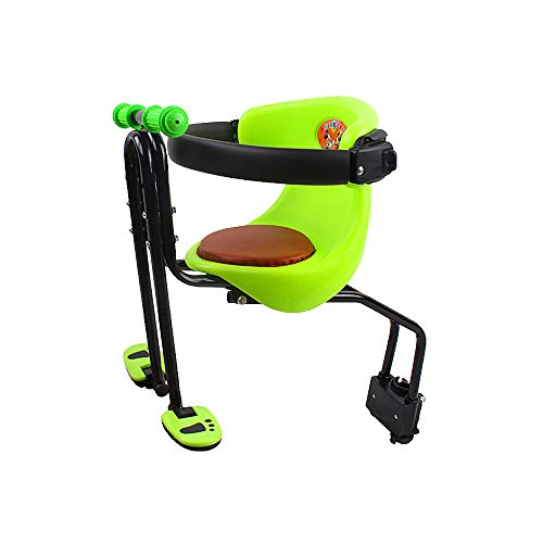 For Sale! Dudolala Kids Saddle Bicycle Baby Safe Seat, Bike Front Seat Saddle Cushion with Back Rest...