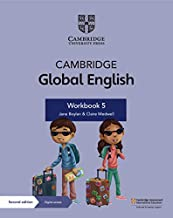 Cambridge Global English Workbook 5 with Digital Access (1 Year): for Cambridge Primary English as a Second Language
