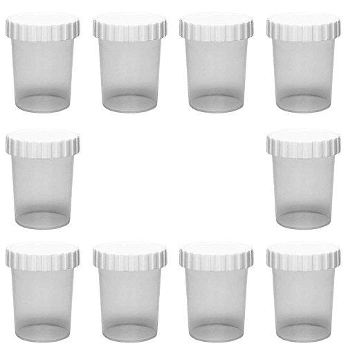 mikken Kunststoffbecher, Kunstoff, Transparent, 50 ml
