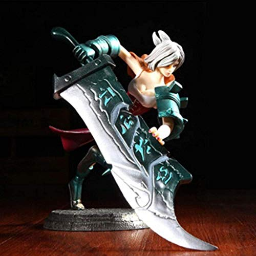 League of Legends temprano en la maana - Disfraz clsico de Blade Raven Desterrado Figura decoracin nostlgica de Summoner'S Canyon