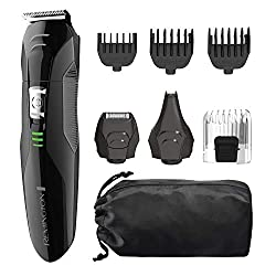 Remington PG6025 All-In-1 Lithium Powered Grooming Kit [Black]