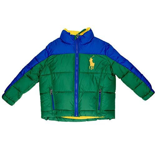 Ralph Lauren Daunenjacke - grün, Größe:2 Jahre / 92