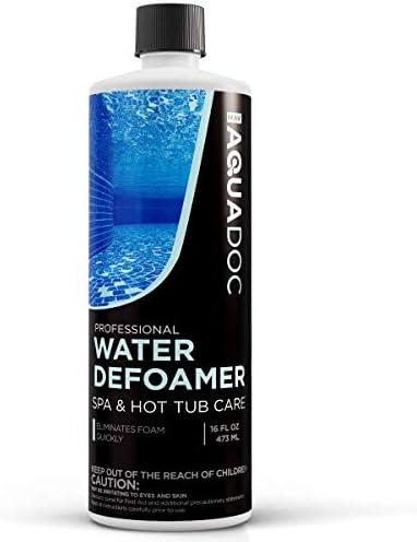 MAV AquaDoc Hot Tub Defoamer Spa Defoamer Spa Anti Foam for Hot Tub Owners to get The Foam Out product image