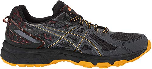 ASICS Men's Gel-Venture 6 MX Running Shoes, 10.5M, Black/Sunflower