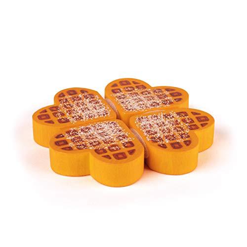 Erzi 13265 - Gofres de madera para compartir