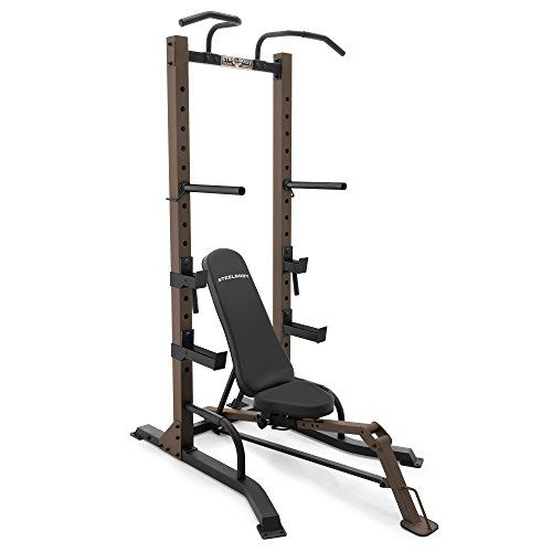 Steelbody Exercise Power Tower and Fold-Up Bench - STB-98502