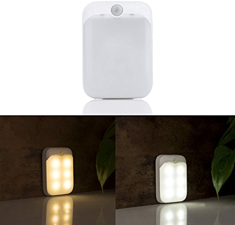 JCHUNL JCHUNL JCHUNL PIR-Bewegungssensor 6 LED USB wiederaufladbare tragbare Nachtlicht für Schrank Schrank Camping New Hot (Farbe   Warm Weiß) B07NV8Z1TM  | König der Quantität  858752