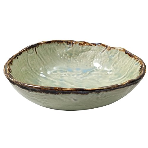 India Meets India Thanksgiving Handicraft Ceramic Serving Bowl Mixing Bowls Fruit Bowl Salad Bowl Snack Bowl,1000ml, Best Gifting, Made by Awarded Indian Artisan