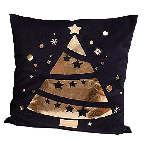 A.Blöchl Christmas pillow made of velvet (45x45 cm - Tree II)