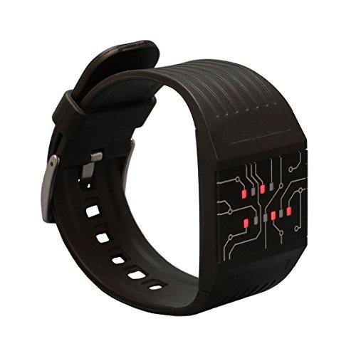 getDigital Binäre Armbanduhr für Profis