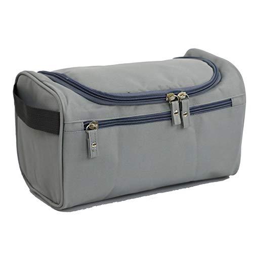 Travel wash Bag Men's Portable Outdoor Travel Waterproof wash Bag Large Storage Cosmetic Bag Light Gray25x14x15cm