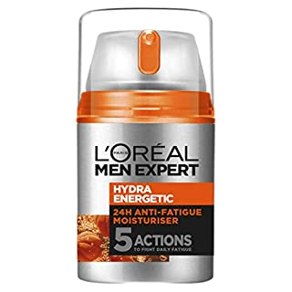 L'Oréal Paris Men Expert Hydra Energetic Moisturiser For Men, for Dry and Tired Skin, with Guarana and Vitamin C, 50ml (B076V2F364) | Amazon price tracker / tracking, Amazon price history charts, Amazon price watches, Amazon price drop alerts