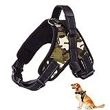 XYDZ Perros Pecho De Arnés Mascotas Reflectante Antitranspirante Acolchado Dog Vest Harness Ajustable Arnes Seguridad Chaleco Cabestro para Ejercicio De Caminar Formación Corriendo