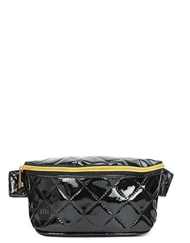 Mi-Pac Mi-Pac Bum Bag Patent Quilt Riñonera de Marcha, 22 cm, Negro (Black)
