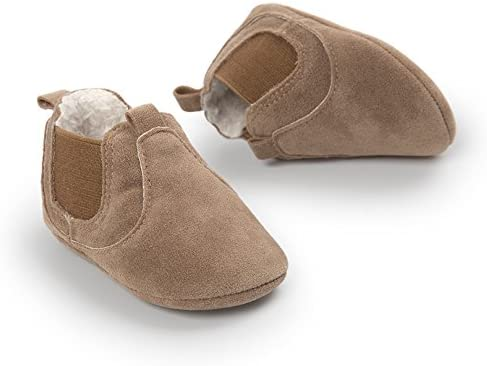 Baby M/ädchen Jungen Warme Anti-Rutsch-Stiefel mit Fleece Futter 6-12 Monate Kfnire S/äuglings-Winterschuhe