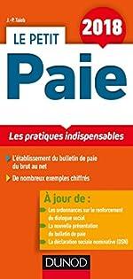 Le Petit Paie 2018 - Les pratiques indispensables (2018) de Jean-Pierre Taïeb