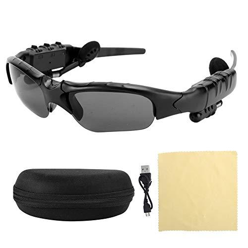 iFCOW Gafas de sol Bluetooth inalámbricas Sonido estéreo que reproduce música llamada auriculares suministros