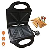 Durable tool 750W Electric 2 Slice Sandwich Toast Toaster Maker Machine Non Stick Easy Clean