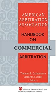 AAA Handbook on Commercial Arbitration - 2nd Edition