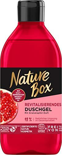 Nature Box Revitalisierendes Duschgel mit Granatapfel-Duft, 250 ml