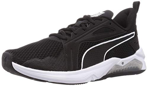PUMA LQDCELL Method, Zapatillas de Gimnasio Hombre, Negro Black White, 44.5 EU