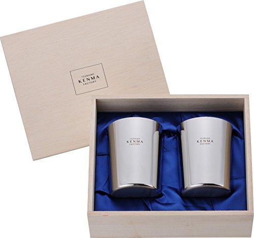 和平フレイズ タンブラー ビール ジュース 燕研磨ファクトリー 340ml 2個組 木箱入 ステンレス 日本製 TM-9856
