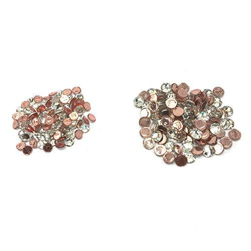 Wholesale Lot 288 pcs Mix ss16 ss12 #2028 Swarovski Crystal HOTFIX Flatback Rhinestone Xilion Rose. CRYSTAL CLEAR