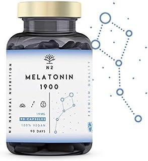 comprar comparacion N2 Natural Nutrition Melatonina Pura 1,9 mg, 5HTP Griffonia, Vitamina B6. Alta Dosis. Facilita la Conciliación y Mejora Ca...