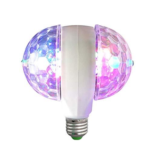 Sisaki Double Head Rotation Multicolor Stage Light Blitzleuchte für Zuhause Speziallampen