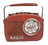 Wohnen & Dekorieren Radio 13 cm Antik Look Radiorecorder Deko GRH 8057 51