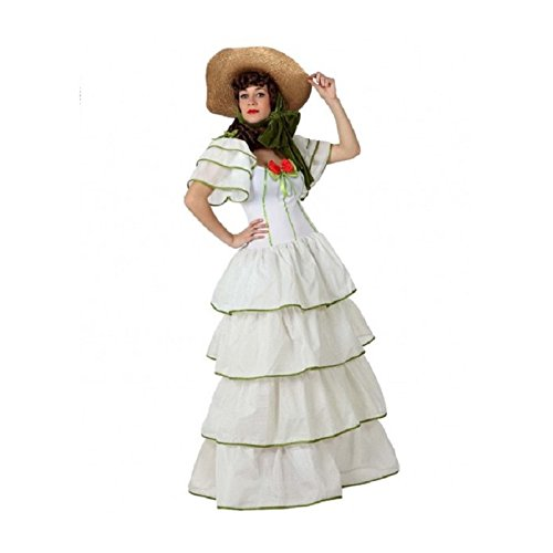 Atosa - Disfraz de sevillana para mujer, talla M/L (15609)