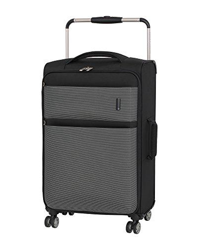 it luggage World's Lightest Debonair 27.8' 8-Wheel Spinner, Black/White
