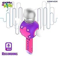 Karaoke Microfono Cambia Voce per Bambini, Senza Fili Microfono Registrazione Ricaricabile Strumenti Musicali per bambina, Compleanno Giochi da Tavolo, Regalo Bimba 3 4 5 6 Anni Gioco Educativi #1