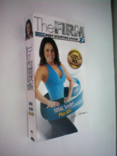 Why Choose The Firm Body Sculpting System 2 -- Total Sculpt Plus Abs -- Jennifer Carman -- VHS