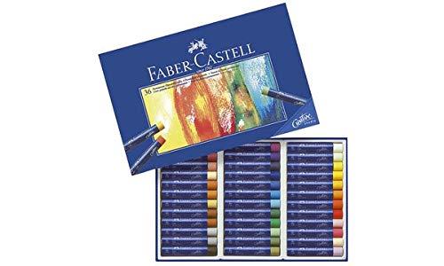 Faber-Castell - Gessetti a olio STUDIO QUALITY, confezione da 36 pezzi