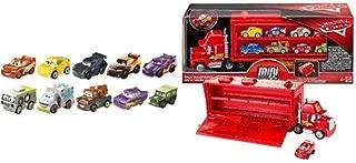 Disney Pixar Cars Spring 10-Pack #1 [Amazon Exclusive] AND Disney Pixar Cars Mini Racers Mack Transporter