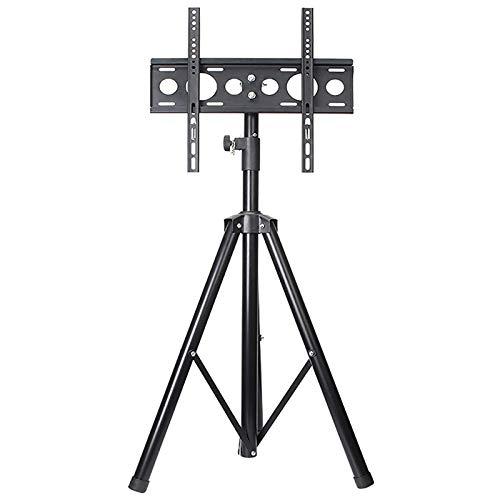 Trípode portátil para el hogar Soporte para TV Soporte de piso giratorio alto para TV Soporte de altura ajustable para la mayoría de televisores de pantalla de 12-32 / 32-55 pulgadas hasta 35 / 45kg
