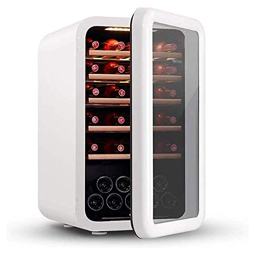 Multifunctional Stainless Steel Red and White Wine Cooler, Countertop Wine Cellar, Countertop Compressor Cooling, Quiet