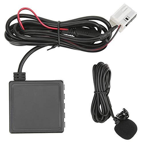 Módulo AUX Bluetooth Aramox, teléfono manos libres para coche de 12 pines, adaptador de audio USB AUX inalámbrico Bluetooth apto para C2 C4 307308