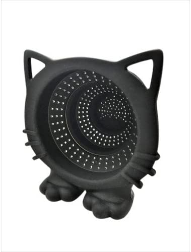 CKB LTD Black CAT Meow Ranking TOP19 Silicone security Tea Fil Strainer Collapsible