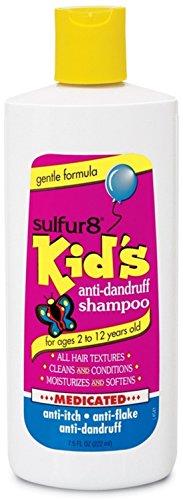 Sulfur8 Kids Medicated Anti Dandruff Shampoo, 7.5 oz (Pack of 2)