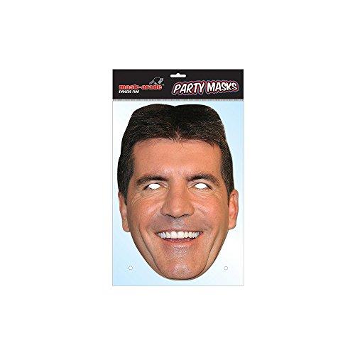 Masque carton Simon Cowell