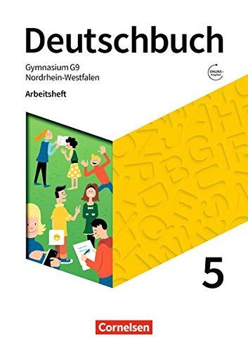 Deutschbuch Gymnasium - Nordrhein-Westfalen - Neue Ausgabe: 5. Schuljahr - Arbeitsheft mit Lösungen