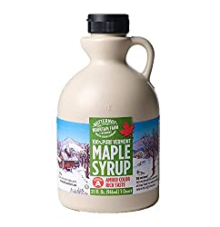 FLAVOR PROFILE: Our Grade A Amber Color Rich Taste syrup provides a naturally sweet, rich and smooth taste. A pronounced maple flavor makes Amber Rich maple syrup a favorite for table and all around use. SUSTAINABLY SOURCED: At Butternut Mountain Far...