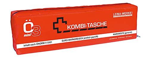 Leinawerke 33055 Lot de 5 mini sacs combinés ÖNORM Ö3 Mini Couleurs assorties 1 couleur, avec...