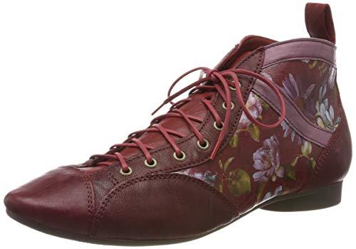 Think! Damen Guad_585288 Desert Boots, Rot (Rosso/Kombi 72), 41 EU