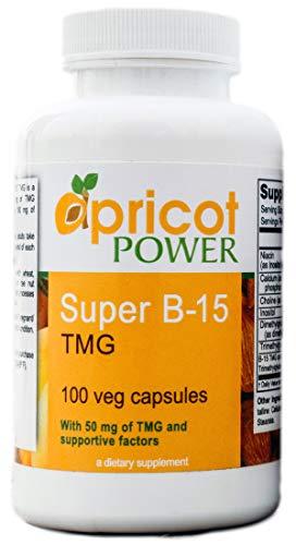 Apricot Power Super B-15 Non Toxic Pangamic Acid - Health Oxygen...